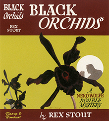 <i>Black Orchids</i> book by Rex Stout