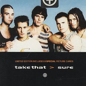 Titelbild des Gesangs Sure von Take That