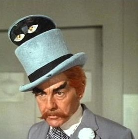 The Mad Hatter as portrayed by David Wayne in ...