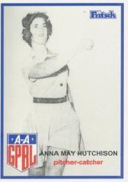 Anna May Hutchison American baseball player