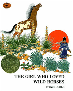The girl who loved wild horses storybook