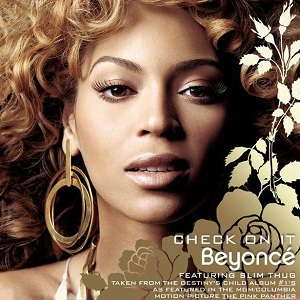Beyonce featuring Slim Thug — Check on It (studio acapella)