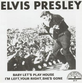 Baby Lets Play House 1955 single by Elvis Presley