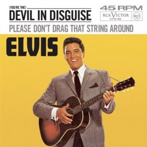 the devil in disguise Elvis presley tribute i have another elvis presley video the song is love me tender love me tender has a lot more effects than this video thanks.