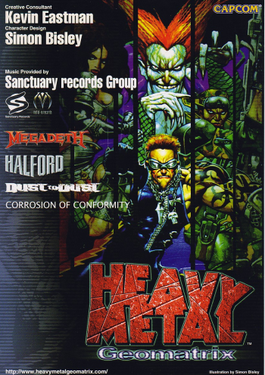 Picture of a game: Heavy Metal Geomatrix