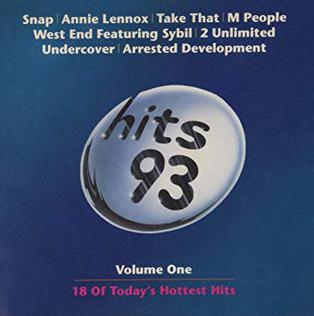 <i>Hits 93 Volume 1</i> 1993 compilation album by Various Artists