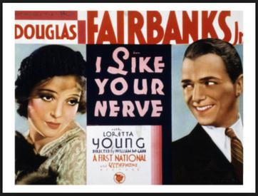 Image result for i like your nerve 1931