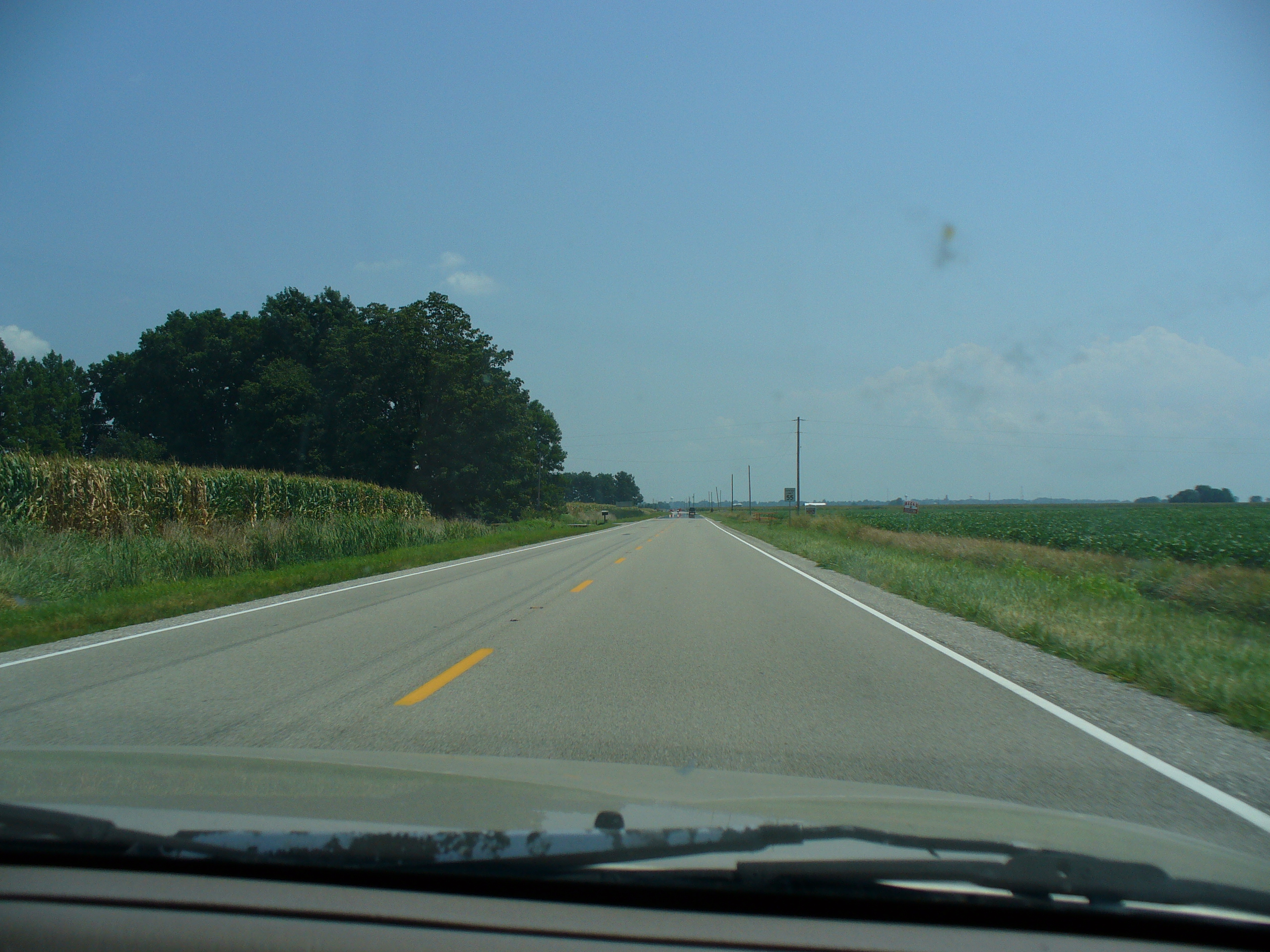 Indiana gibson county francisco - Indiana 168 Between Owensville And Fort Branch