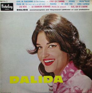 <i>Love in Portofino (A San Cristina)</i> 1959 studio album by Dalida