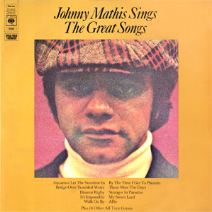 johnny mathis sings the great songs wikipedia. Black Bedroom Furniture Sets. Home Design Ideas