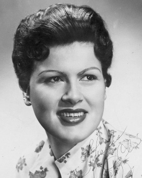 Cline Promotional Photograph Shortly Before Her 1961 Life Threatening Car Accident
