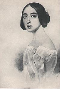 The role of Dalila was written for Pauline Viardot (1821–1910) (pictured) but the singer was too old to assay the role for the 2 December 1877 Weimar premiere and the role was entrusted to Auguste von Müller.