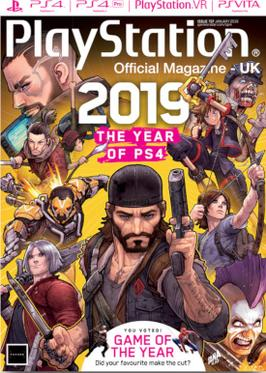 PlayStation Official Magazine - UK cover from January 2019 issue Playstation Official Magazine January 2019 cover.jpg