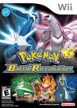 Picture of a game: Pokémon Battle Revolution