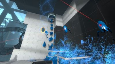 [Xbox360][Noticia] Portal 2 es idéntico en PS3  Portal_2_paint