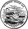Official seal of Gardiner, Maine