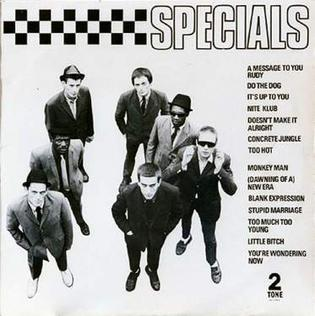 <i>The Specials</i> (album) 1979 studio album by The Specials