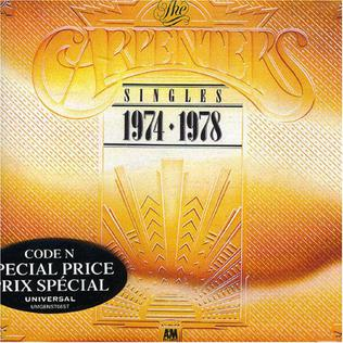 <i>The Singles: 1974–1978</i> compilation album by The Carpenters