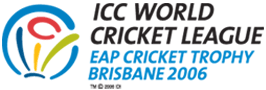 Logo of the 2006 ICC EAP Cricket Cup