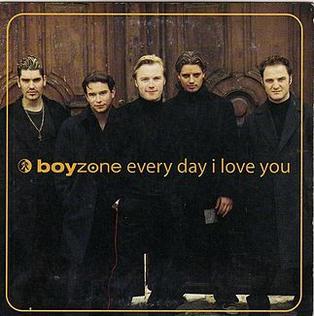 Imagem da capa da música Everyday I Love You de Boyzone