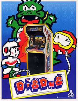 Picture of a game: Dig Dug