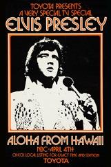 <i>Aloha from Hawaii via Satellite</i> 1973 Elvis Presley concert broadcast via satellite