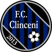 Former logo, used between 2013 and 2014. FC Clinceni logo.png