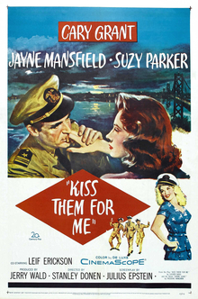 Kiss Them for Me film poster.jpg