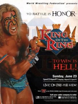 Promotional poster featuring The Ultimate Warrior