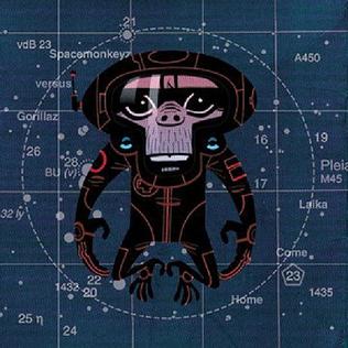 <i>Laika Come Home</i> 2002 remix album by Spacemonkeyz vs Gorillaz