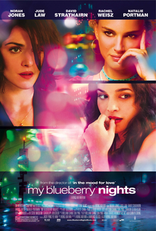 My Blueberry Nights (2007) movie poster