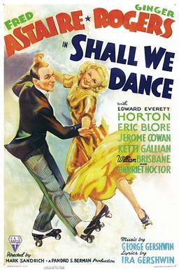 Original poster for Shall We Dance (1937).