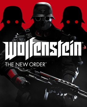 Wolfenstein The New Order - Okładka gry