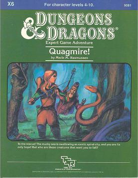Cover of X6 Quagmire!