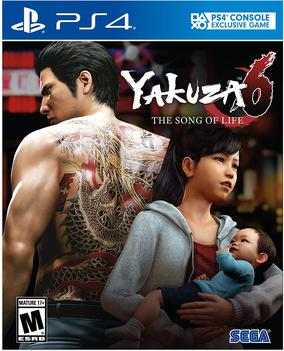Picture of a game: Yakuza 6: The Song Of Life