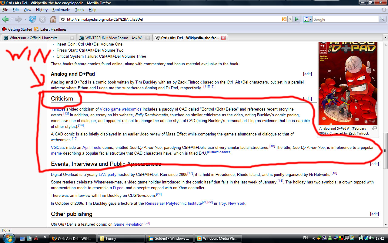 Wikipedia for The free wikipedia