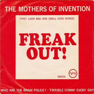 Who Are the Brain Police? 1966 single by The Mothers of Invention