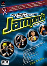 Cover of Jampack Winter 2001.
