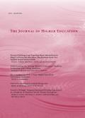 <i>The Journal of Higher Education</i> journal