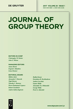 <i>Journal of Group Theory</i> Academic journal