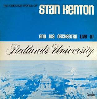 <i>Live at Redlands University</i> 1970 live album by Stan Kenton Orchestra