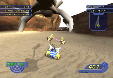 Star Wars Racer Revenge - Wikiwand
