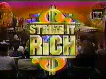 Strike It Rich (1986 game show) - Wikipedia