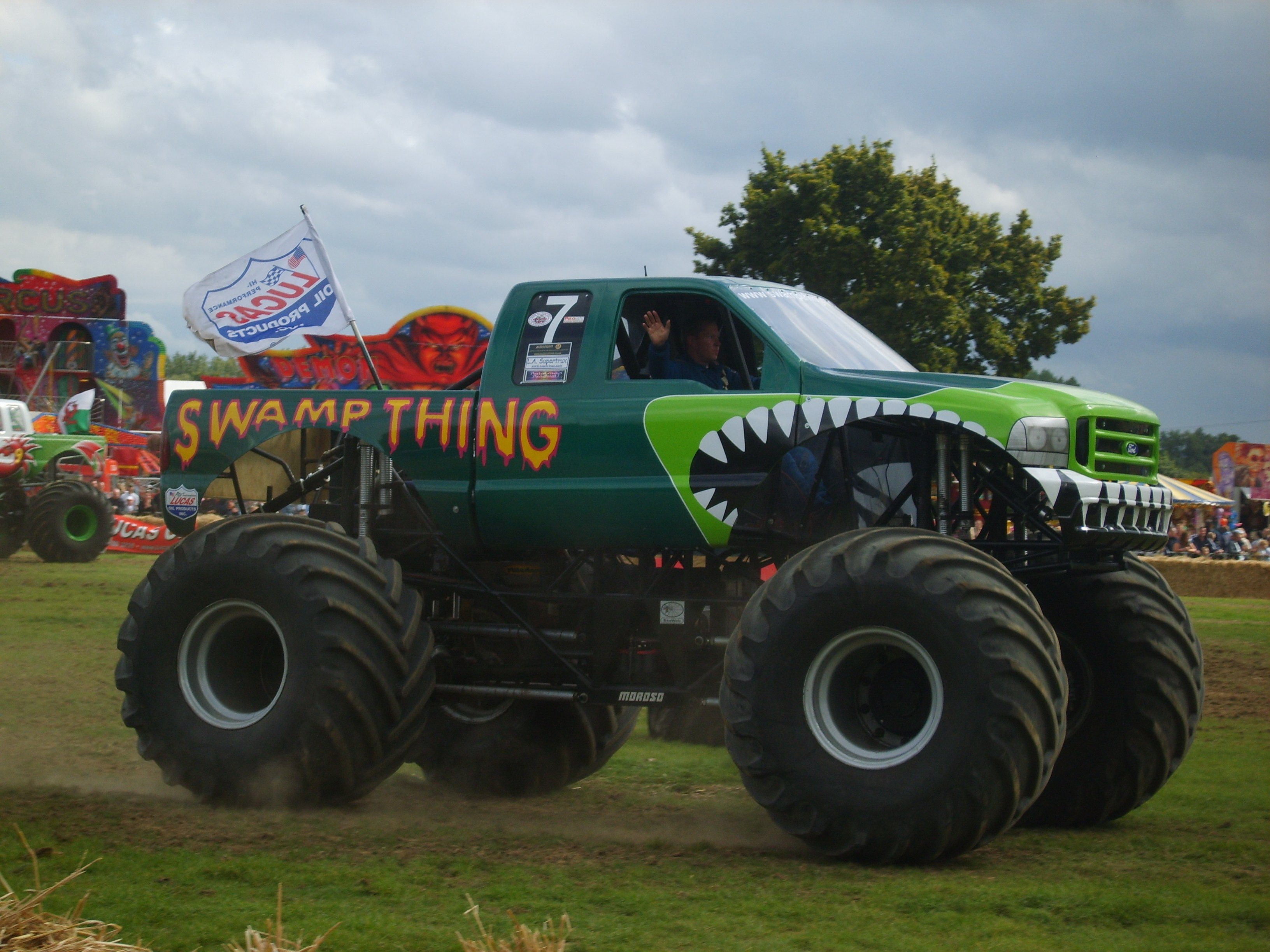 Modified Monster Trucks