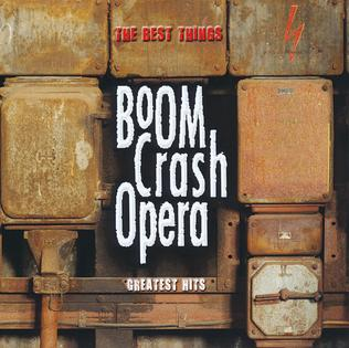 <i>The Best Things</i> (2013 album) 2013 greatest hits album by Boom Crash Opera