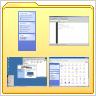 Windows explorer film strip