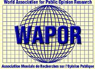 World Association for Public Opinion Research organization