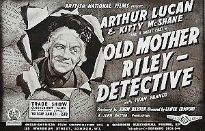 <i>Old Mother Riley Detective</i> 1943 film by Lance Comfort