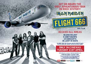 <i>Iron Maiden: Flight 666</i> 2009 film by Sam Dunn, Scot McFadyen
