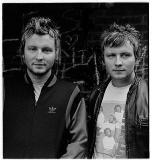 James and Tom Martin English twin musicians